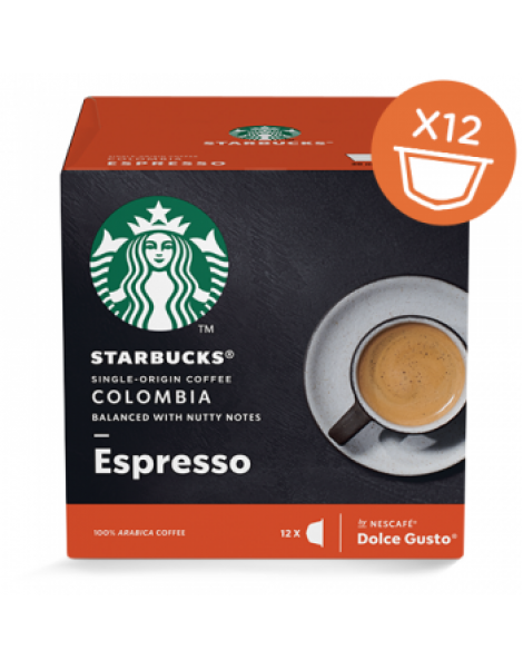 STARBUCKS COLOMBIA ESPRESSO by DOLCE GUSTO
